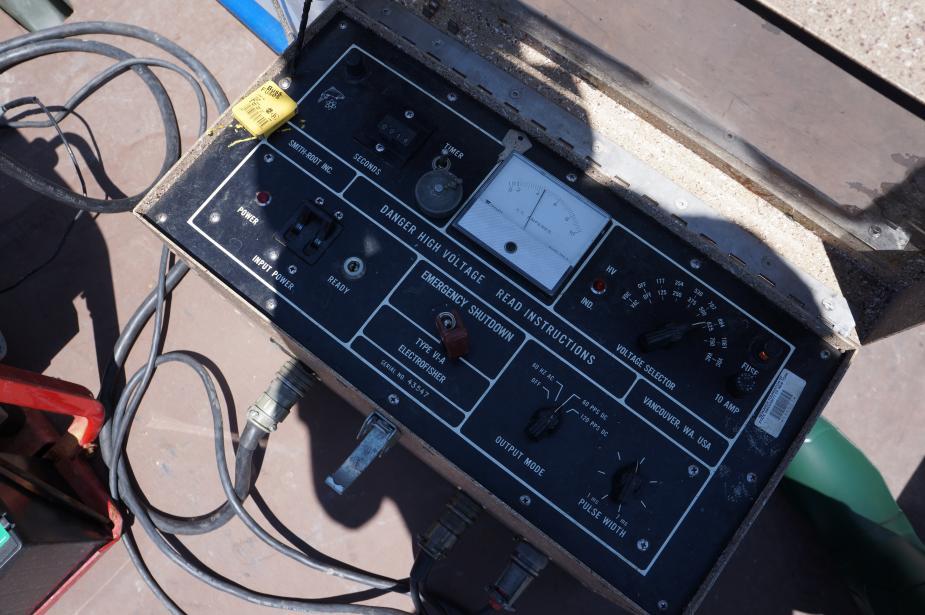 A control panel box.