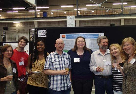 GLC staff and students at IAGLR in Hamilton, Ontario