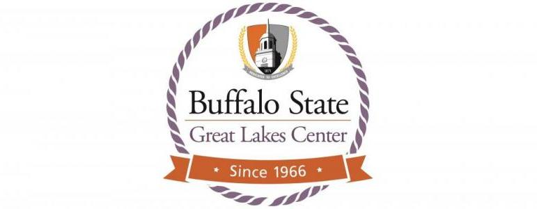 "Logo ""Buffalo State Great Lakes Center, Since 1966"""