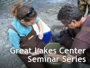 Image of students sampling, captioned by GLC Seminar Series