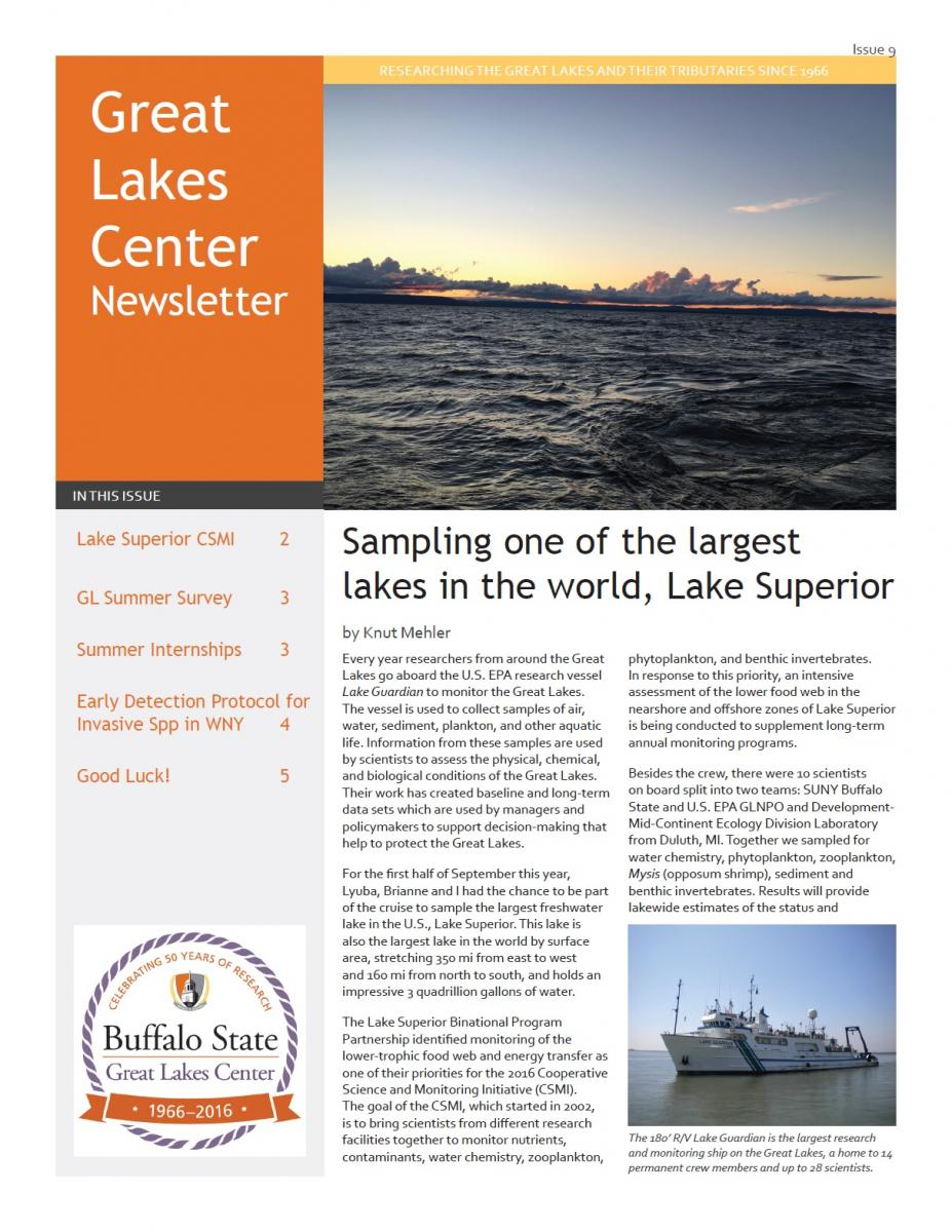 cover of the GLC newsletter